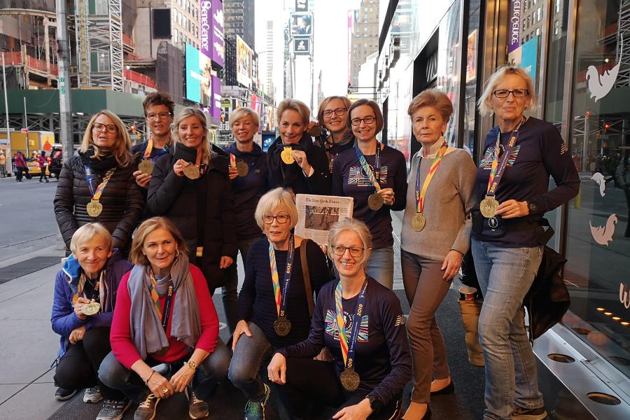 Finisherinnen in New York 2019