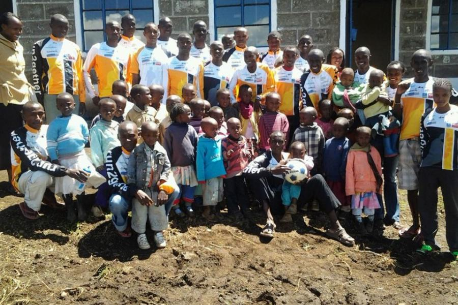 run2gether Kindergarten in Kenia